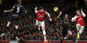 Soccer - Barclays Premier League - Arsenal v Liverpool - Emirates Stadium
