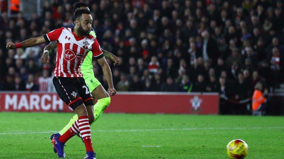 Nathan Redmond, Southampton - Liverpool 11.01.2017