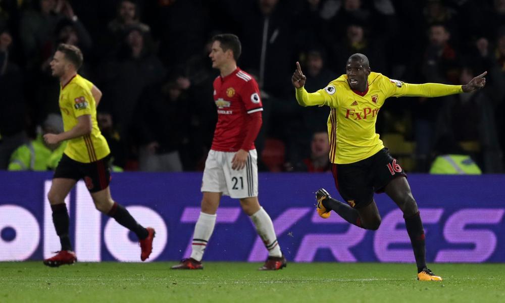 Абдулай Дукуре, Уотфорд 2:4 Манчестер Юнайтед, 28 ноября 2017